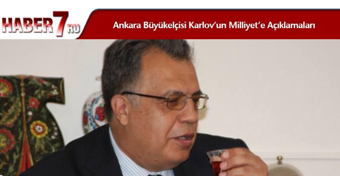 Ankara Büyükelçisi Karlov