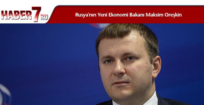 Rusya'nın Yeni Ekonomi Bakanı Maksim Oreşkin