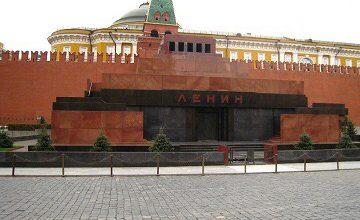 Lenin'in Mozolesi İki Ay Kapalı
