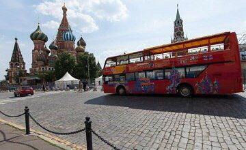 Moskova'nın 2016 turizm geliri 500 milyar ruble!