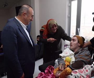 Mevlüt Çavuşoğlu, Umut Bebeği Unutmadı