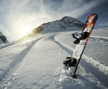 Moskovalı Snowboardcu Arhız'da Koyuna Çarptı.